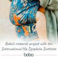 Babywearing and hip dysplasia: Bobas research into hip healthy positioning