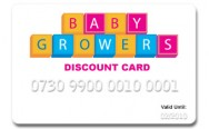 Babygrowers Discount Card