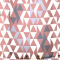 Geometric Dusty Pink